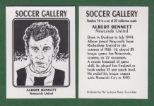 Newcastle United Albert Bennett